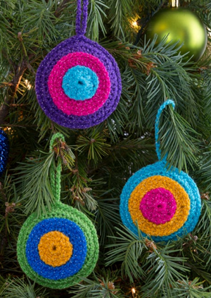 Bull's-Eye Ornaments