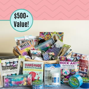 $500 Craft-Enthusiast Gift Basket Giveaway