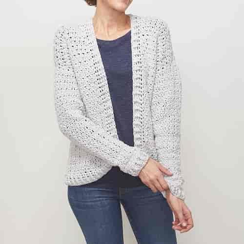 Easy Wear Crochet Cardigan Pattern