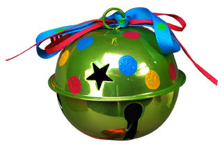 Jingle bell ornament for Jingle bell christmas ornament crafts