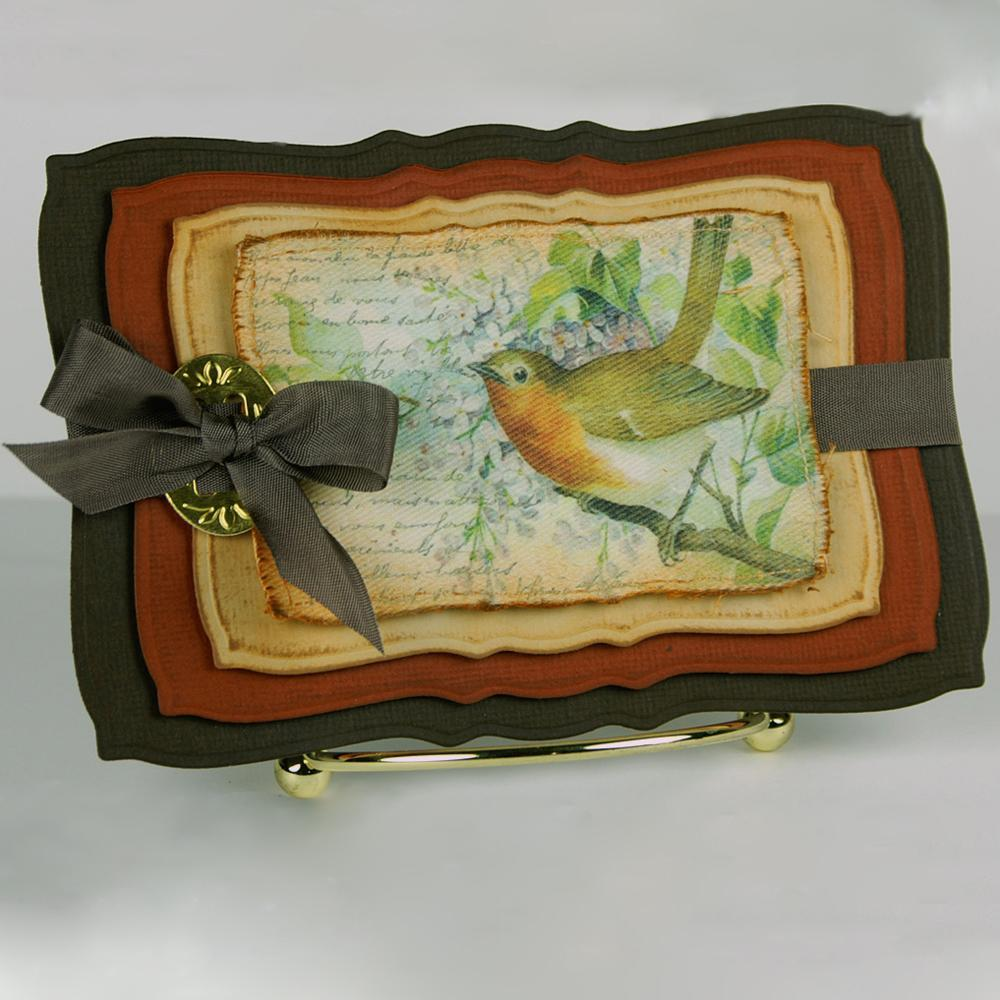 Sweet Robin Handmade Greeting Card Favecrafts