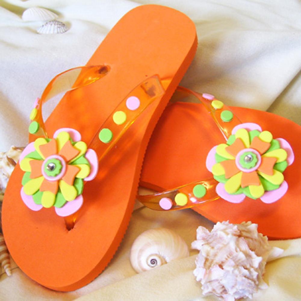 Fab Summer Flip Flops Favecrafts Com