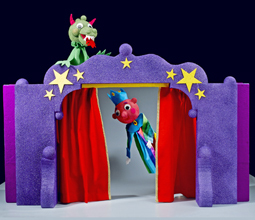 Medieval Puppet Theater