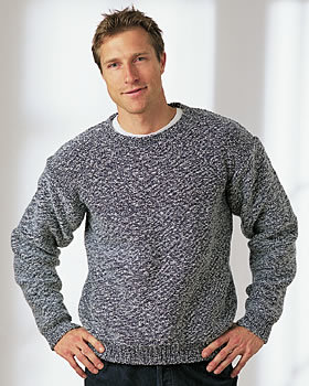 A Knit Men's Sweater