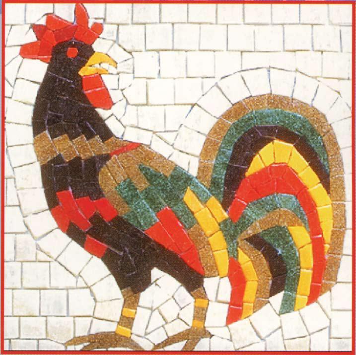 Rooster Mosaic Favecrafts Com