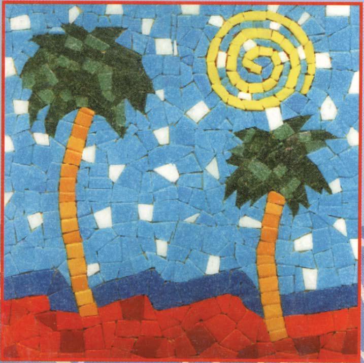 Beach Mosaic Art Favecrafts Com
