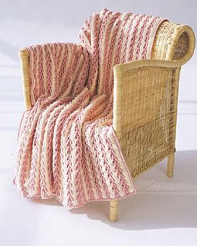 Arrow Stitch Crochet Afghan Pattern Favecrafts Com