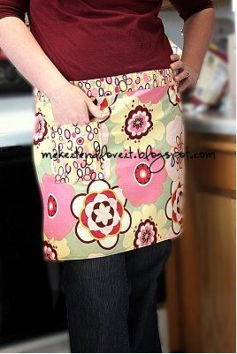 Quick And Easy Half Apron Favecrafts Com