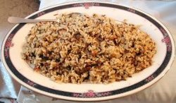 A Cajun Rice Dressing / Cajun Dirty Rice