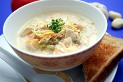 how to make hakka style chicken corn soup