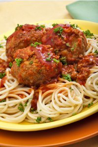 Godfather Spaghetti and Meatballs