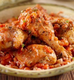 Easy One Pot Chicken Cacciatore