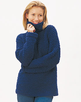 Easy Pullover Sweater Free Crochet Pattern