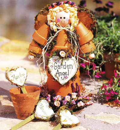 Garden Art Projects For Kids Terra Cotta