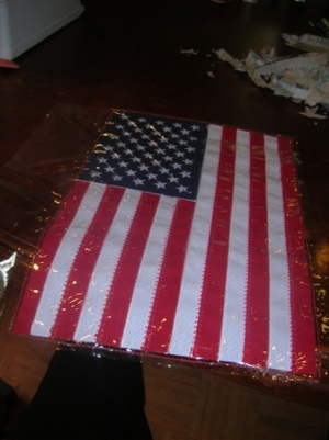American Flag Placemat Tutorial