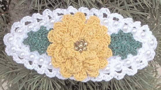 Marigold Pin Crochet Flower Pattern Favecrafts