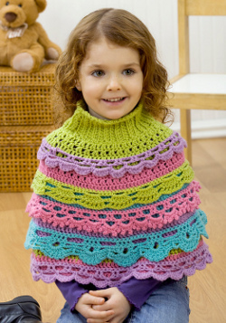 Ruffle Capelet for Girl