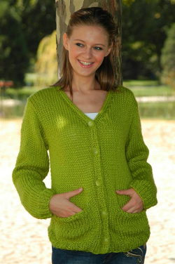 Comfortable Pocket Cardigan