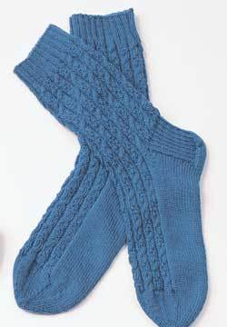 Cable Socks for Men