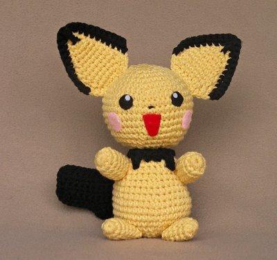 Pokemon Pichu Plush Crochet Pattern FaveCrafts.com
