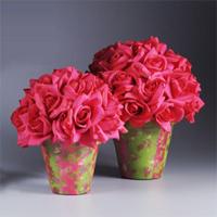 38 flower pot crafts favecrafts hot pink centerpiece pots mightylinksfo
