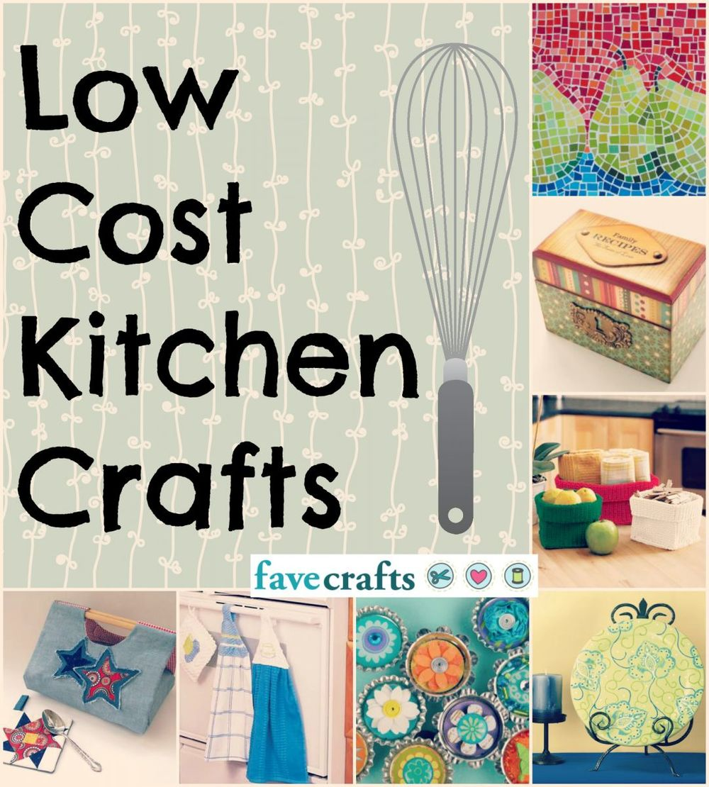 Low Price Christmas Decorations: 53 Low-Cost Kitchen Crafts