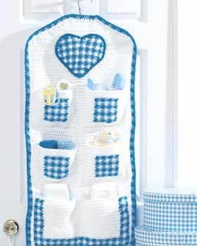 Baby Hanging Storage Crochet Pattern Favecrafts Com