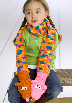 28 unusual unforgettable and unique crochet patterns favecrafts silly and easy patterns to crochet for babies hand puppet scarf dt1010fo