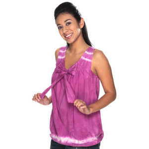 Bubblegum Tie Dye Sleeveless Top