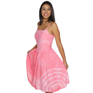 Light Pink Tie Dye Dress