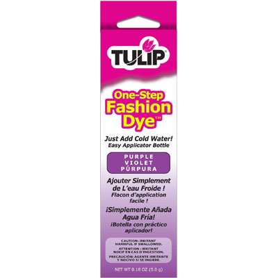 How to Use Tulip One Step Fashion Dye