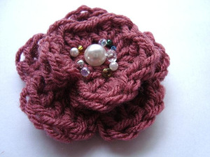 Flower Embellishment Crochet Pattern