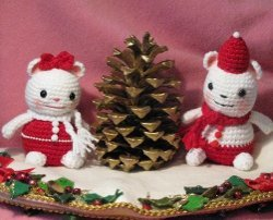 Mr. and Mrs. Christmas Mouse