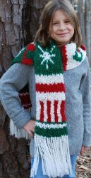 Holiday Knit Scarf