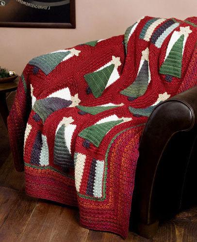 Christmas Tree Afghan Crochet Pattern