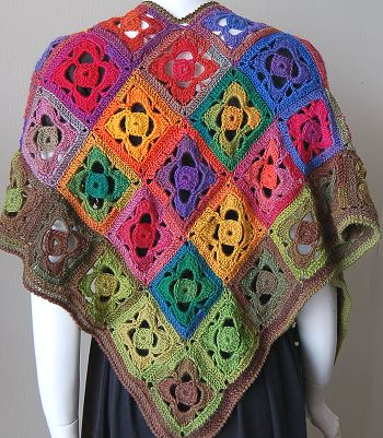 Mini Mochi Flower Garden Shawl