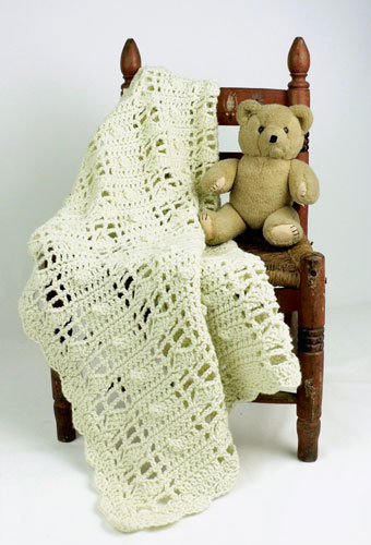 60 Easy Crochet Baby Blanket Patterns FaveCrafts Gorgeous Lacy Baby Blanket Crochet Pattern