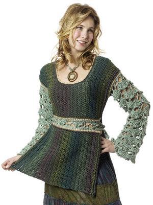 Autumn crochet tunic favecrafts more free crochet tunic patterns dt1010fo