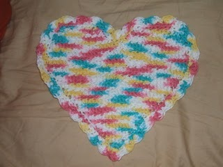 47 free crochet dishcloth patterns allfreecrochet heart dishcloth dt1010fo