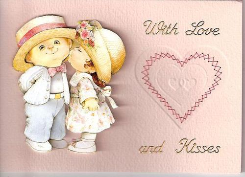 With Love Stitched Card