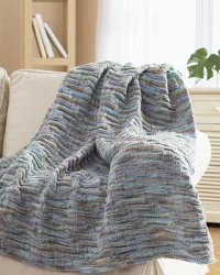 Easy Chunky Knit Blanket