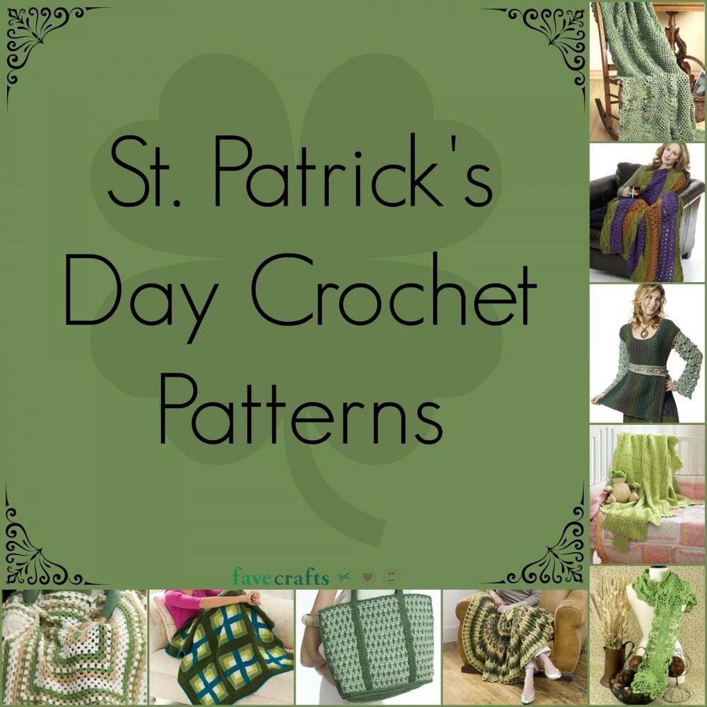 18 st patricks day crochet patterns favecrafts bankloansurffo Choice Image