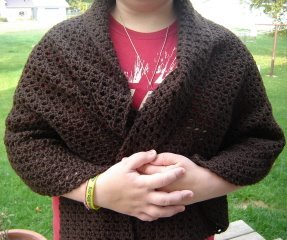 Sweet and simple shawl allfreecrochet this free easy crochet pattern is great for those who are just beginning to crochet make a sweet and simple shawl for yourself and youre sure to stay warm dt1010fo