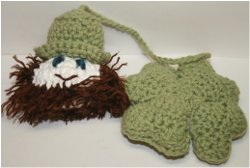 Free Amigurumi Leprechaun Pattern : Shamrock and leprechaun crochet pattern allfreecrochet.com