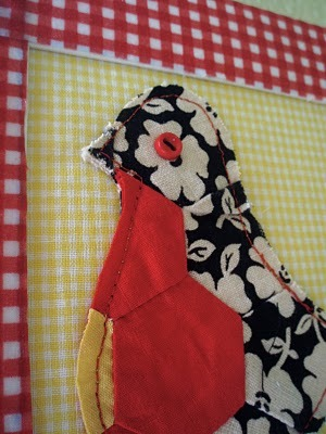 Fabric Scraps Chicken Wall Art Favecrafts Com