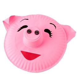 Pig Paper Plate  sc 1 st  FaveCrafts & 54 Recycled Crafts for Kids | FaveCrafts.com