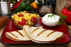 Low Fat Ruby Tuesday Style Chicken Quesadilla