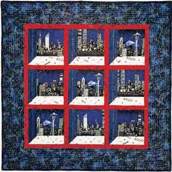 Millennium Cityscapes Attic Windows Quilt Favecrafts Com