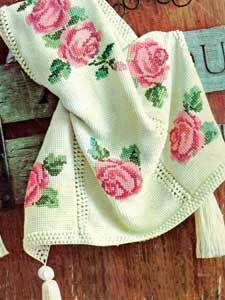 Rose afghan allfreecrochetafghanpatterns the rose afghan is one of the most beautiful vintage crochet patterns weve ever seen crocheted in the afghan stitch this basic crochet afghan comes to dt1010fo