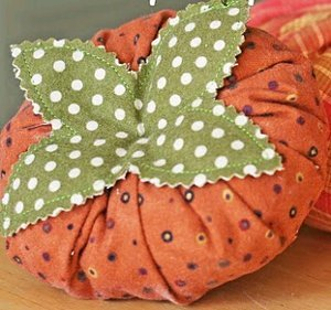 Garden Fresh Fabric Tomatoes and Pumpkins
